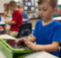Student's in School Classroom