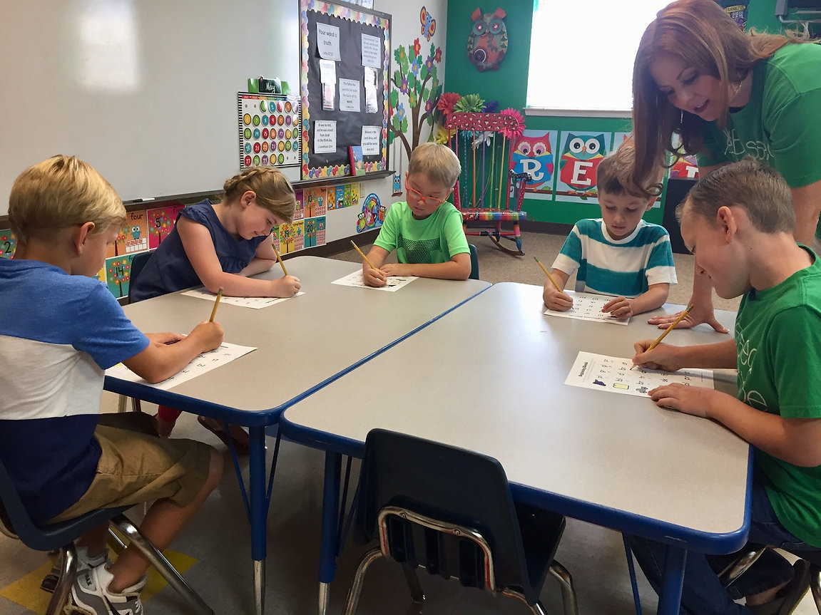 Oklahoma City Christian School Classroom
