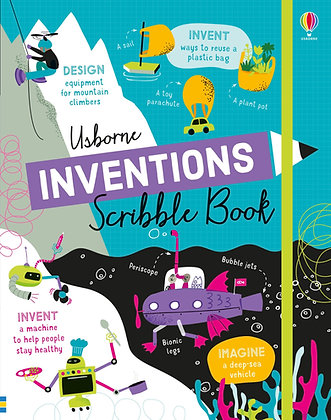 Usborne Inventions Scribble Book