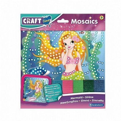 Craft Time Mosaic Art Mermaid