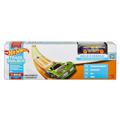 Hot Wheels Track Builder Unlimited Basic Track Pack Set