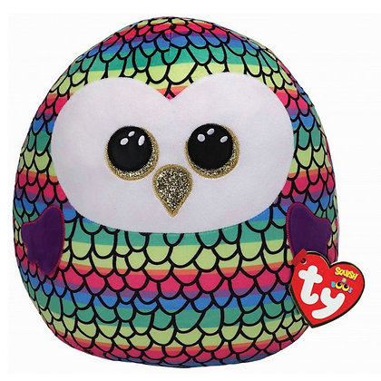 "Owen - Owl - 10"" | 25cm Squish-a-Boo"