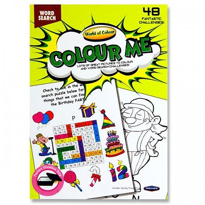 World of Colour 48pg A5 Puzzle Book