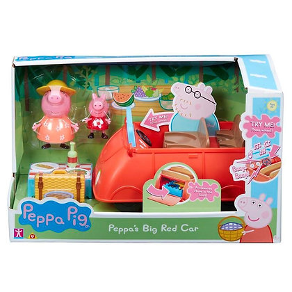 Peppa's Big Red Car - Peppa Pig