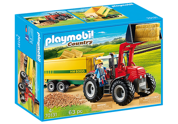 Playmobil Country - Tractor with Feed Trailer - 70131