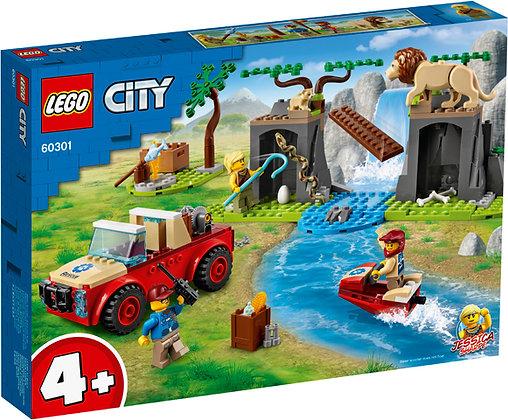 CITY - Wildlife Rescue Off Roader - 60301