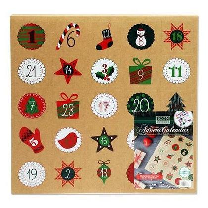 Fillable Advent Calendar
