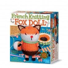 French Knitting Fox Doll - Kidz Maker Craft Kit