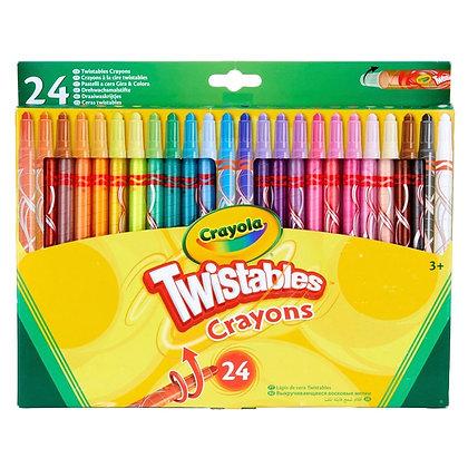Crayola Twistables Crayons 24pk