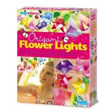Origami Flower Lights - Kidz Maker Craft Kit
