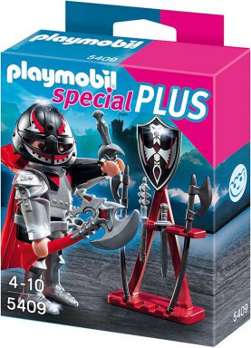 Playmobil Special Plus - Knight with Weapons Stand - 5409
