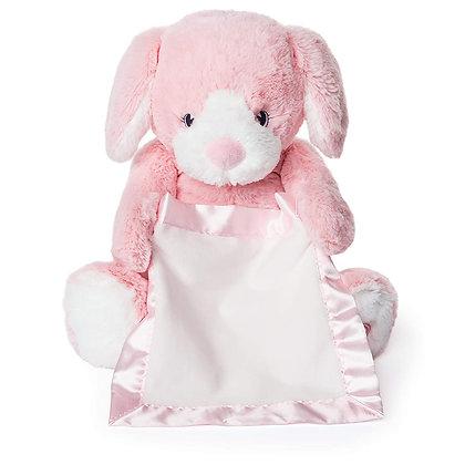 Gund Peek-a-Boo Puppy - Pink