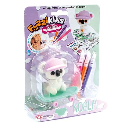 Fuzzikins Fuzzi Skater - Koala
