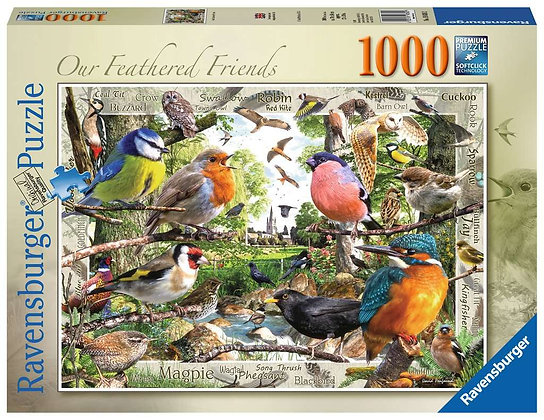 Feathered Friends - 1000pc - Ravensburger 19838