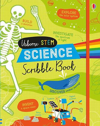 Usborne Science Scribble Book