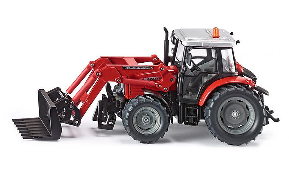 Siku Massey Ferguson Tractor with Front Loader 1:32 Scale