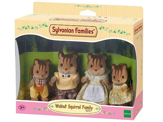 Sylvanian Families - Walnut Squirrel Family - 4172