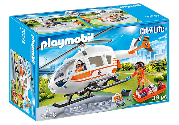 Playmobil City - Emergency Medical Helicopter - 6686