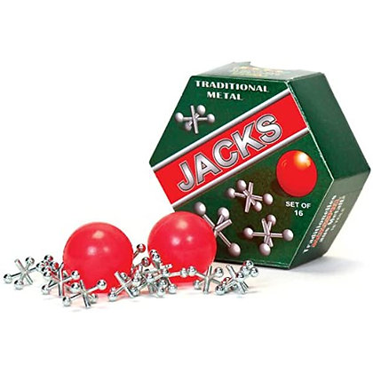 Traditional Metal Jacks Game