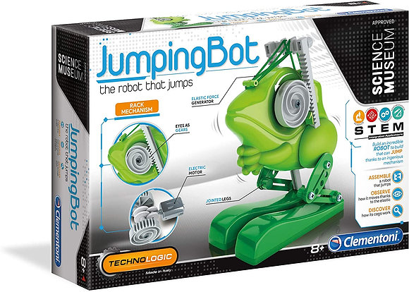 Science Museum - Jumping Bot - The Robot That Jumps!