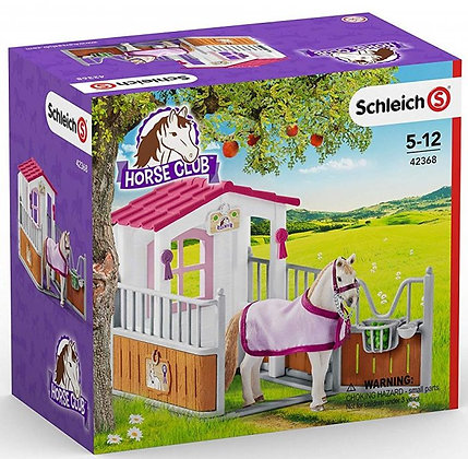 Schleich - Horse Stall with Lusitano Mare - Horse Club - 42368