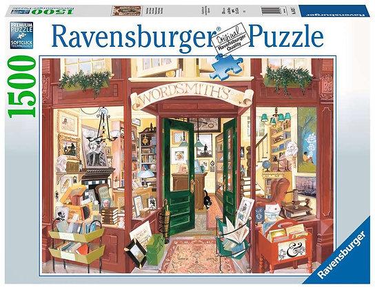 Wordsmith's Bookshop - 1500pc - Ravensburger 16821