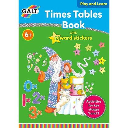 Galt Times Table Sticker Activity Book