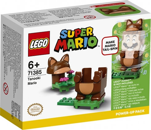 Super Mario - Tanooki Mario Power Up Pack - 71385