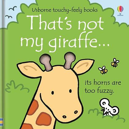 That's Not My Giraffe...Usborne Touchy Feely Book