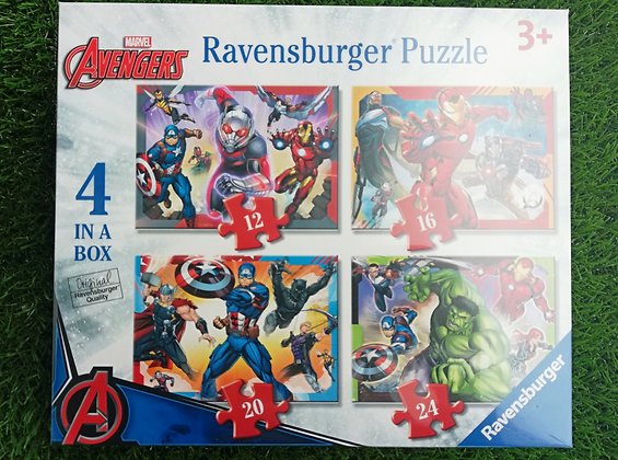Avengers - 4 in a Box
