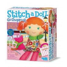 Stitch a Doll and Pet Kitty - Kidz Maker Craft Kit