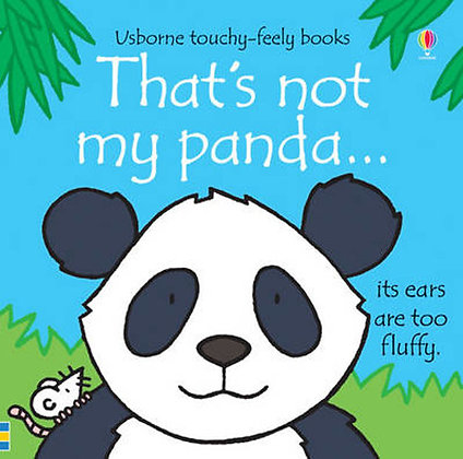 That's Not My Panda... Usborne Touchy Feely Book