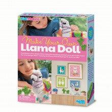 Make Your Own Llama Doll - Kidz Maker Craft Kit