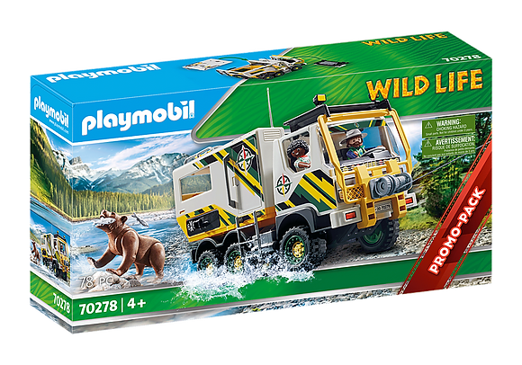 Playmobil Wildlife - Outdoor Expedition Truck - 70278