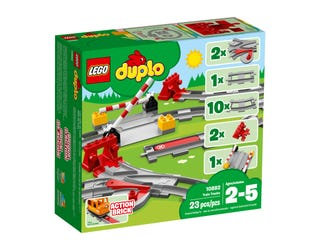 DUPLO Train Tracks- 10882