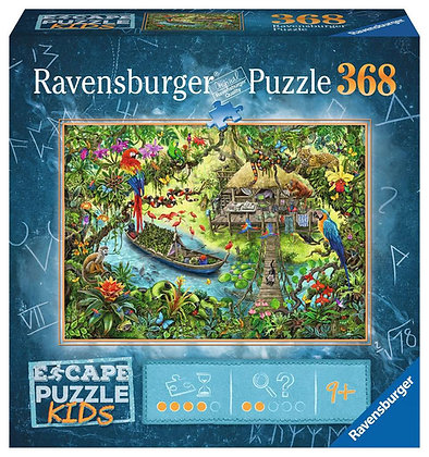 Escape Puzzle for Kids Jungle Journey - 368pc - Ravensburger 12934