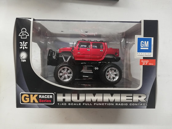GK Racer Series RC Hummer 1:40 Scale Red