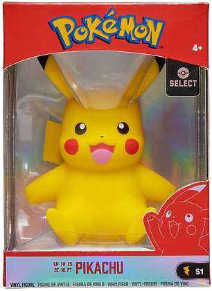 "Pokemon 4"" Kanto Figure Pikachu"