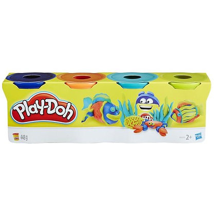 Play-Doh 4pk - Dark
