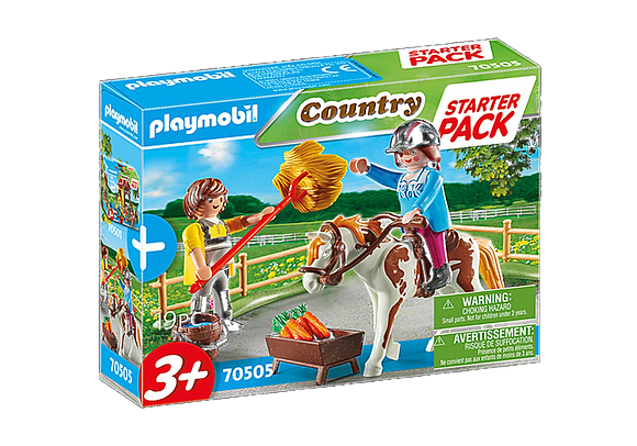 Playmobil Country - Starter Pack Horseback Riding - 70505