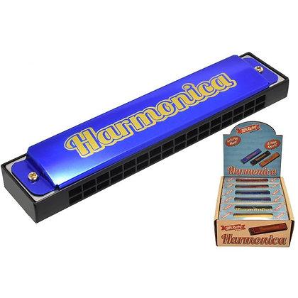 Superetro Harmonica Metal 4 Asst Colours