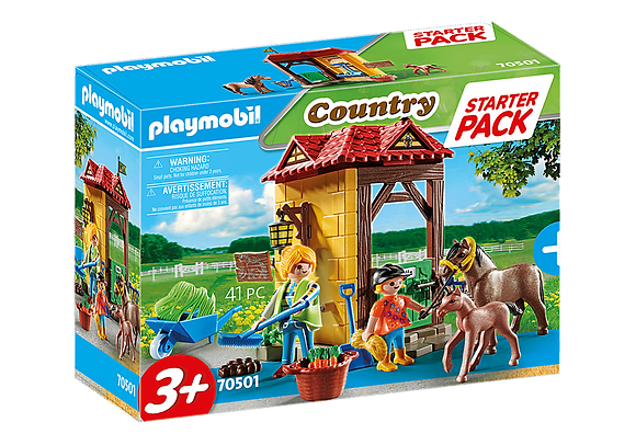 Playmobil Country - Starter Pack Horse Farm - 70501