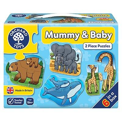 Mummy & Baby - 2pc Puzzles