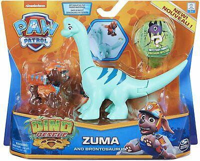 Paw Patrol Dino Rescue Zuma and Brontosaurus