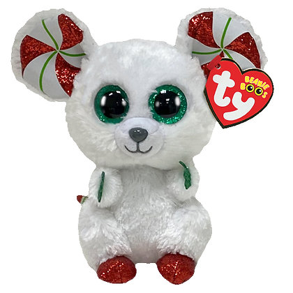 """Chimney - Mouse - 6"""" TY Beanie Boo"""