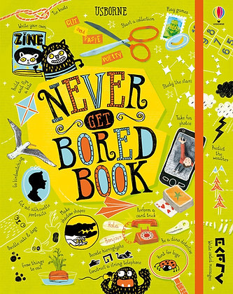 Usborne Never Get Bored Book