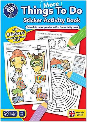 Orchard More Things to Do Sticker Activity Book