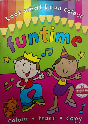 Funtime Colouring Book