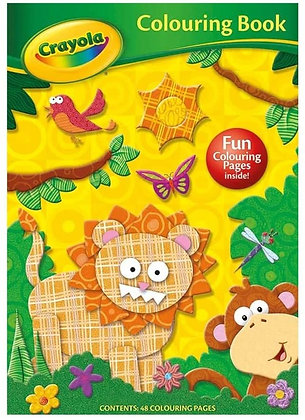 Crayola Colouring Book 48pg Jungle Theme