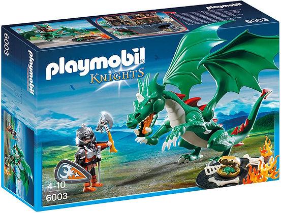 Playmobil Knights - Great Dragon Playset - 6003